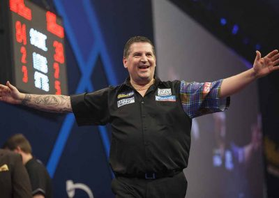 Gary Anderson at the championship