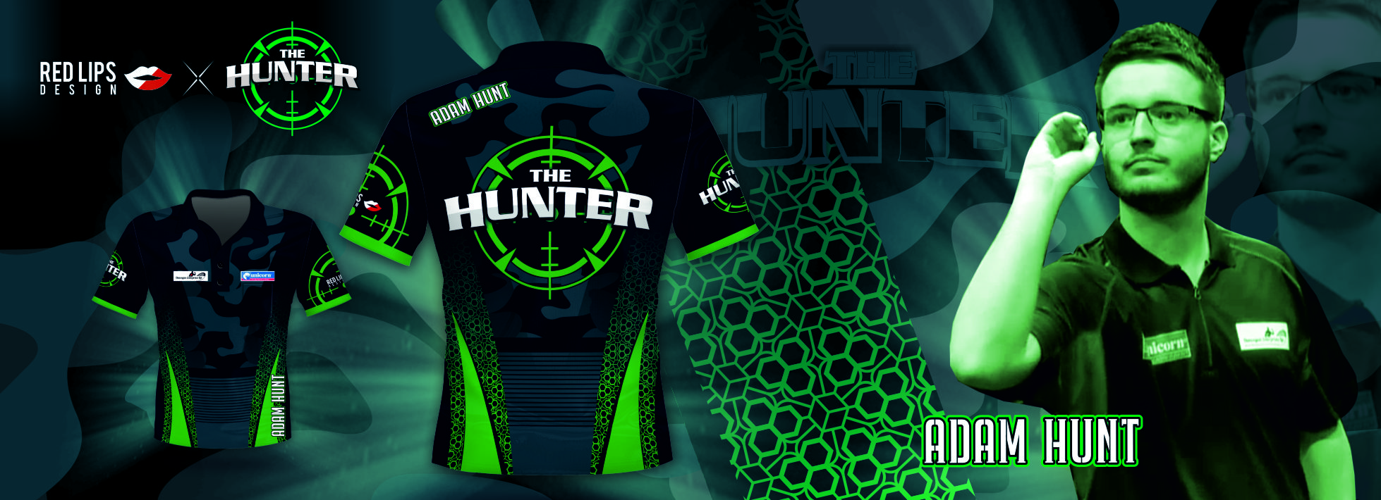 Adam Hunt shirt design