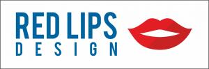 Redlips design logo