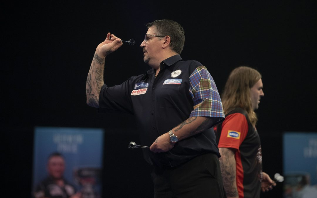 Anderson beats Searle to progress to last 16 in GSOD