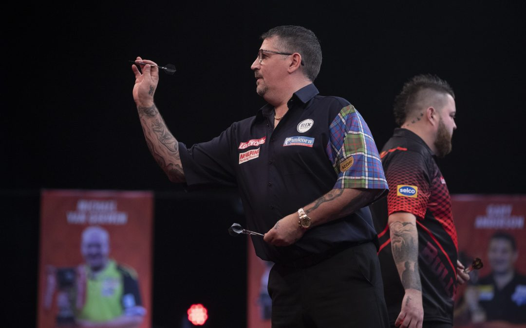 Anderson falls to Smith in Round 2 of Players Championship Finals.