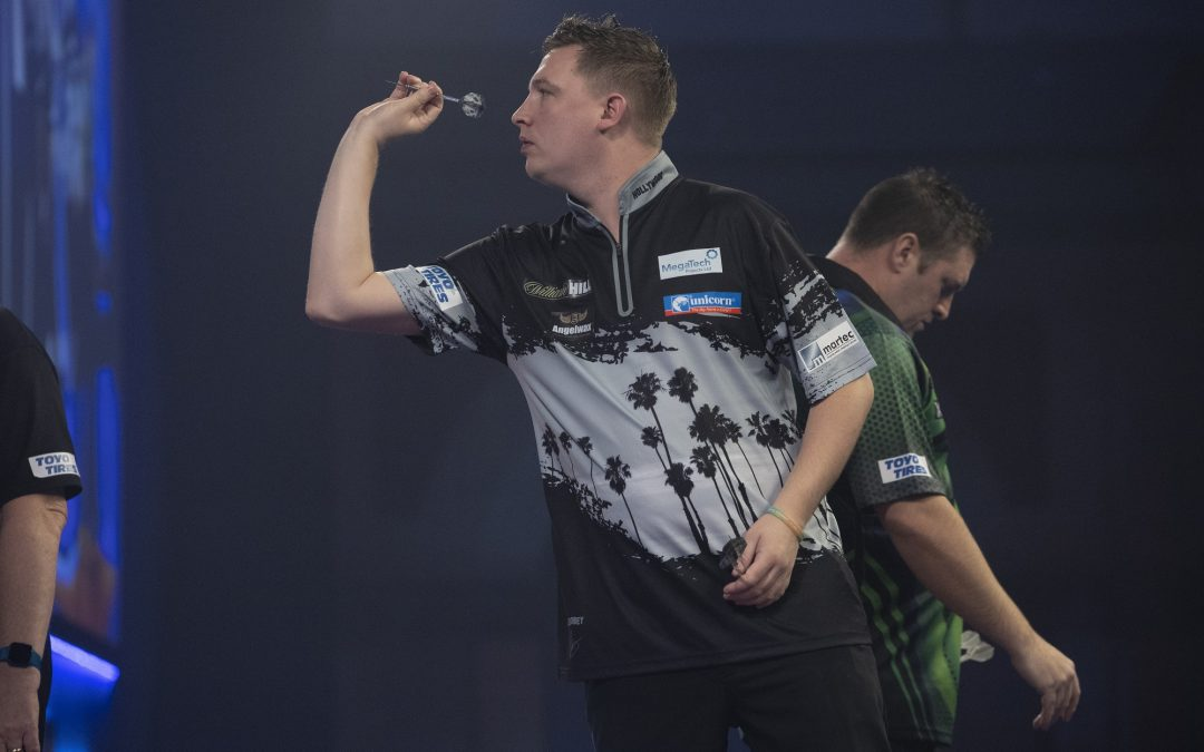 Dobey defeated by Gurney at World Darts Championship