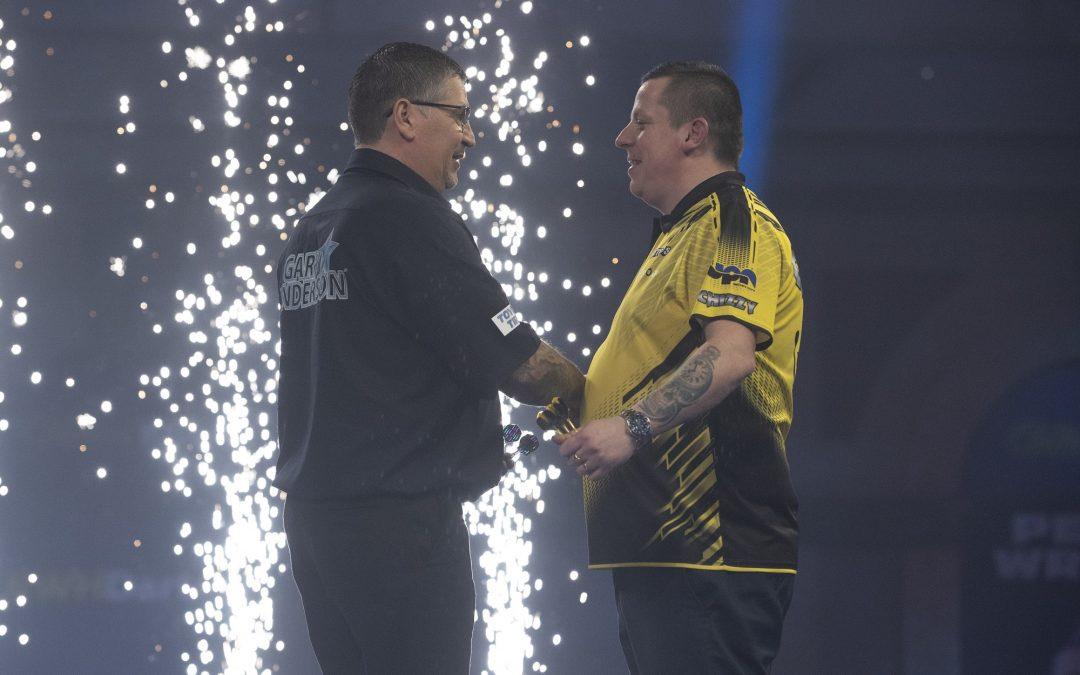 Anderson advances to fifth World Darts Championship Final