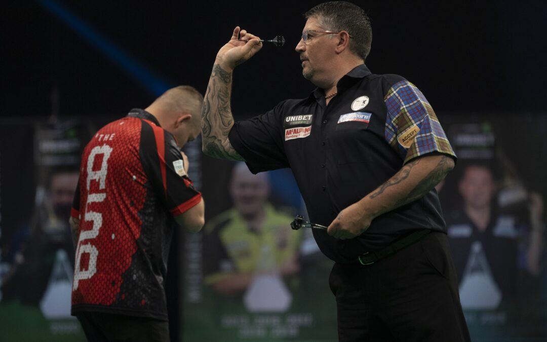 Anderson misses chance to go into Premier League Darts Play-Off places