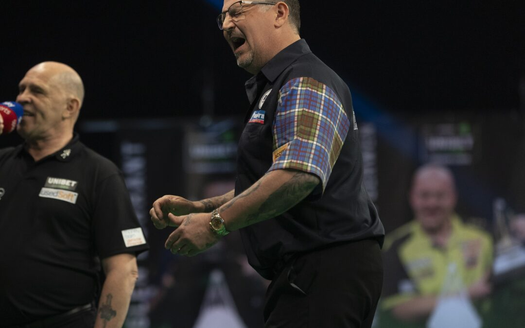 Anderson eliminated from 2021 Premier League Darts